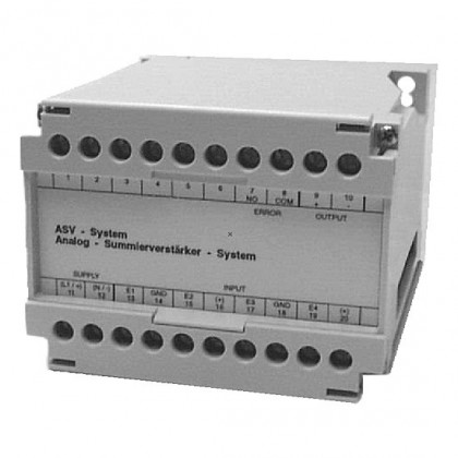 Amplificateur summing 4-entrées ASV | ID: SU