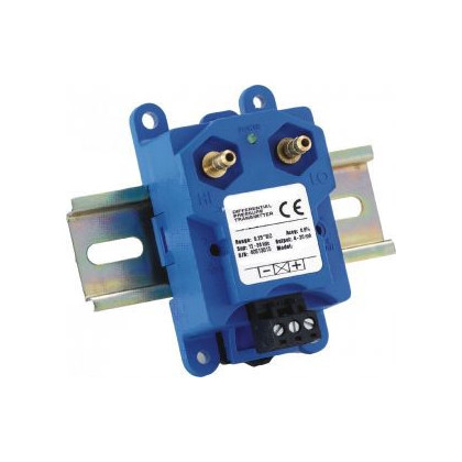 ​Pressure differential transmitter for wall or Din rail mounting type: DPI