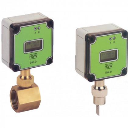 Type de transmetteur de débit : DW-D