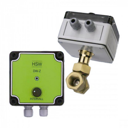 DW-Z flow switch for hot water control
