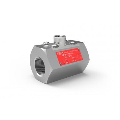 Turbineflowmeters voor temperatuurregelaars (HM-P)
