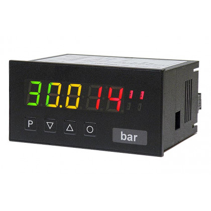 Digital Indicator Straingauge, digit height 14 mm M2 Tricolour Straingauge / Weighing Technique | 96 x 48