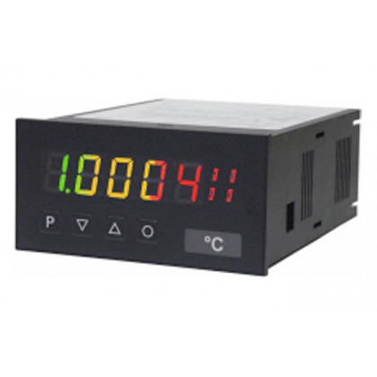Digital Indicator DC current/high DC voltage - standard signal, digit height 14 mm M3-H tricolour | 96 x 48