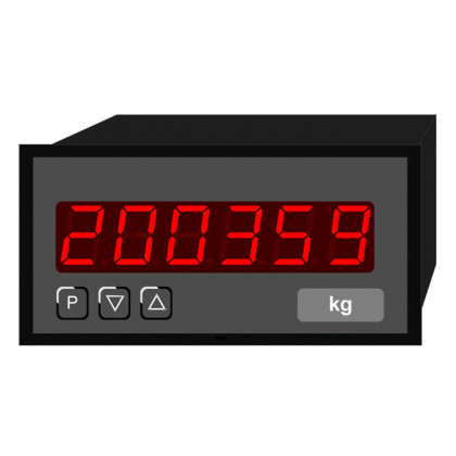 Digital Indicator - Counter, digit height 14 mm PC6 | 96 x 48