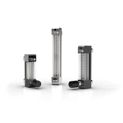 Variabele oppervlakte vloeimeters voor gassen, met aantrekkelijk ontwerp - Q-Flow