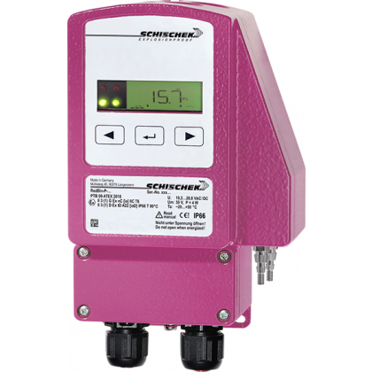 Pressure Switch 2 Variable Measuring Range +/-5000Pa Zone 2+22 REDBIN-P5000-2
