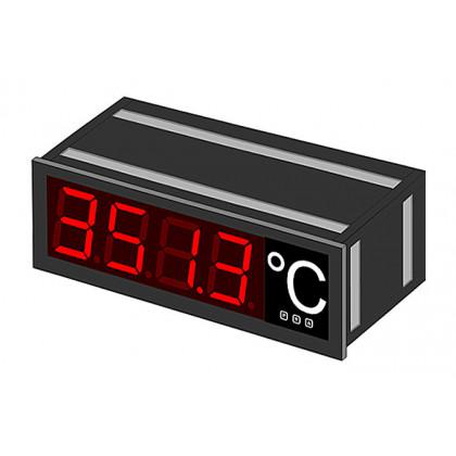 Grand indicateur numérique, hauteur de caractères 57/100/200 mm RS232 RS485