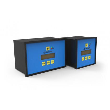 Coriolis flowtransmitterdisplay TCE 8000 op paneel