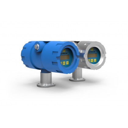 Coriolis flowtransmitterdisplay TCE 8000/8100 Compact