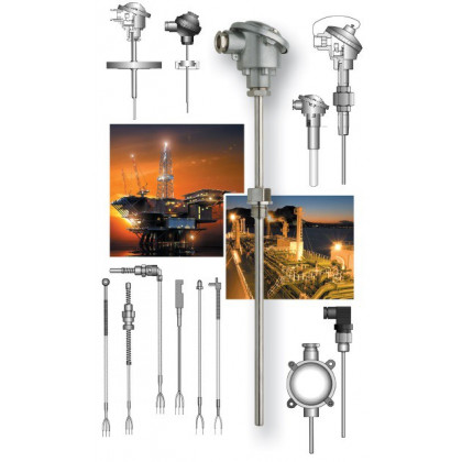 Temperature sensors available in all versions