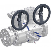 Double Block & Bleed Piping Ball Valves Taurus Series - Twin Ball Design
