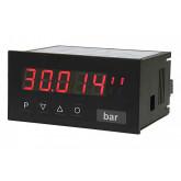 Indicateur numérique Courant continu/tension continue élevée - signal normalisé, caractères de hauteur 14 mm M2-H | 96 x 48