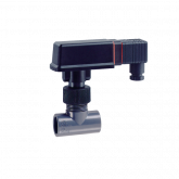 SIKA flow switch with RVS pipe T-piece type VKS